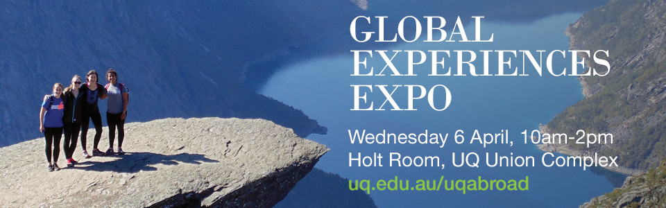 Global Experiences Expo UQ Abroad