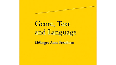 Genre, Text and Language - Melanges Anne Freadman