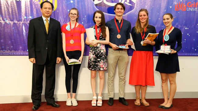 Chinese Bridge Proficiency Competition - Queensland Preliminary All Round winners 2016