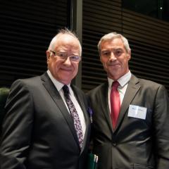Emeritus Professor Roly Sussex & Mr Bertrand Pous